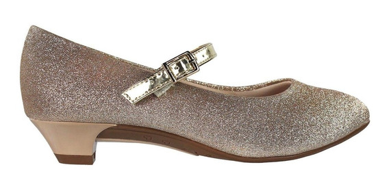 Sapato Infantil Molekinha Glitter 2166414 | Radan Esportes
