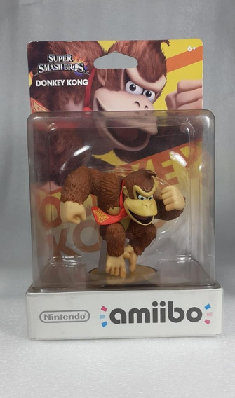 Amiibo Donkey Kong Super Smash Bros