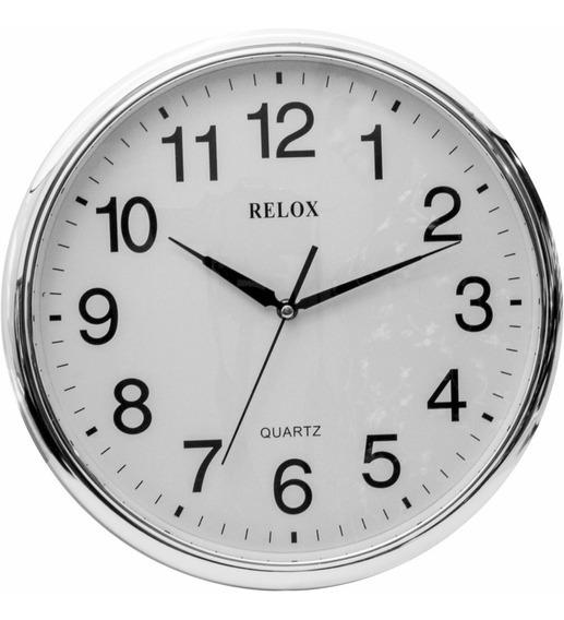 Relógio De Parede 35cm Sem Barulho