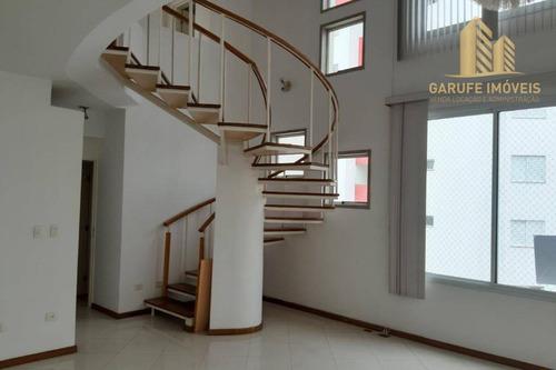 Cobertura À Venda, 240 M² Por R$ 1.060.000,00 - Jardim Aquarius - São José Dos Campos/sp - Co0017
