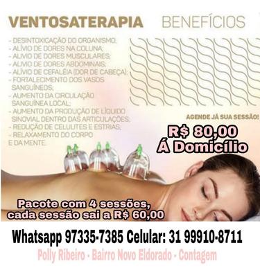 Massagem De Ventosoterapia E Relaxante