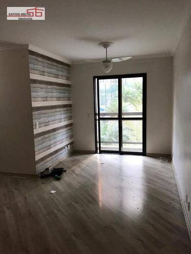 Apartamento Com 3 Dormitórios À Venda, 70 M² Por R$ 330.000,00 - Limão (zona Norte) - São Paulo/sp - Ap2176