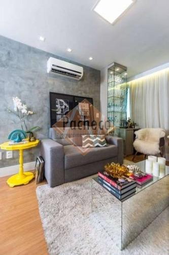Imagem 1 de 13 de Apartamento Studio Na Vila Nhocune, 2 Dormitórios, 40 M², R$ 169.000,00 - 2008