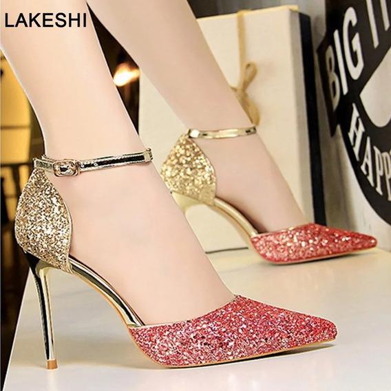 Sapato Scarpin Importada Ref355