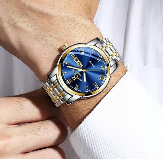 Relógio Ontheedge.masculino De Luxo.na Promoção Últimas Unid