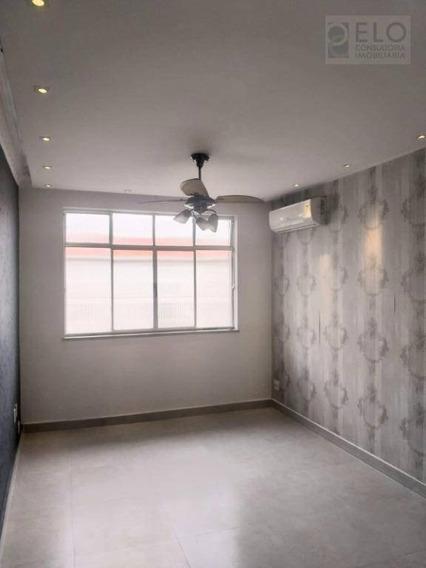 Apartamento Com 2 Dormitórios Para Alugar, 100 M² Por R$ 1/mês - Marapé - Santos/sp - Ap2137
