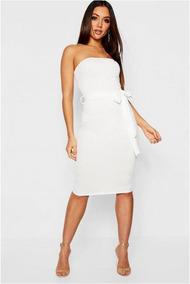 9c723ad87c Vestido Blanco Corto Pegado Al Cuerpo - Vestidos de Mujer en Mercado ...