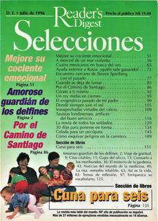 Revista Selecciones. Julio 1996