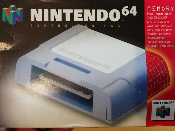 Memory P/nintendo 64 Con Caja E Instructivos