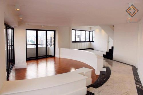 Cobertura Com 4 Dormitórios À Venda, 500 M² Por R$ 4.250.000,00 - Aclimação - São Paulo/sp - Co1349
