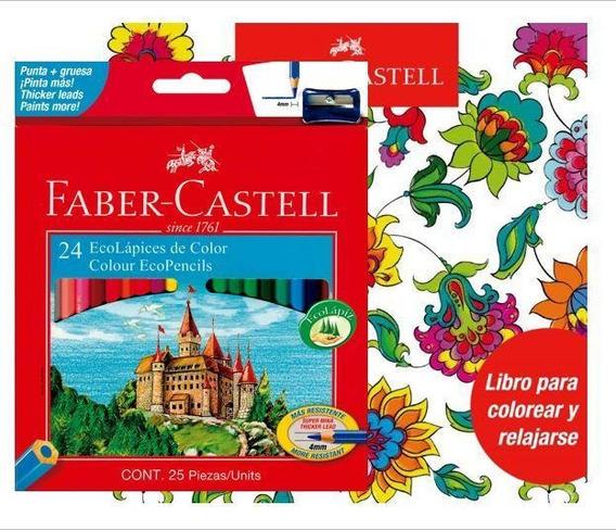 Colores Faber Castell+libro