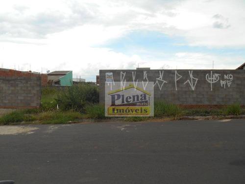 Terreno Residencial À Venda, Residencial Portal Bordon Ii, Sumaré. - Te0513