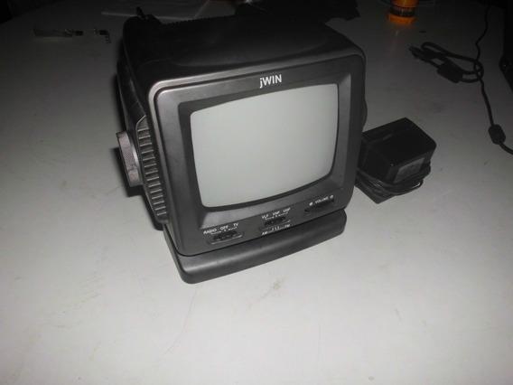 Mini Televisor Portatil Radio Tv Y Video Jwin 5 Pulg(carro)