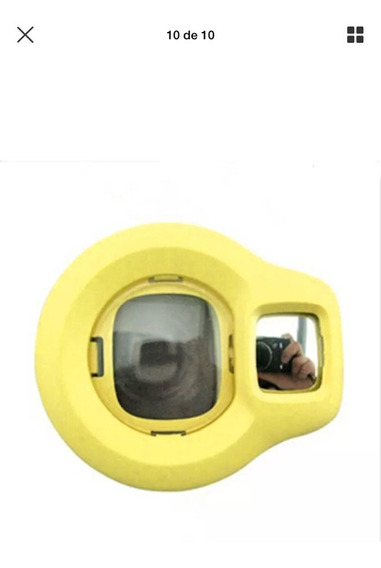 Lente De Selfie Para Instax Mini 7s/8/9 Amarelo