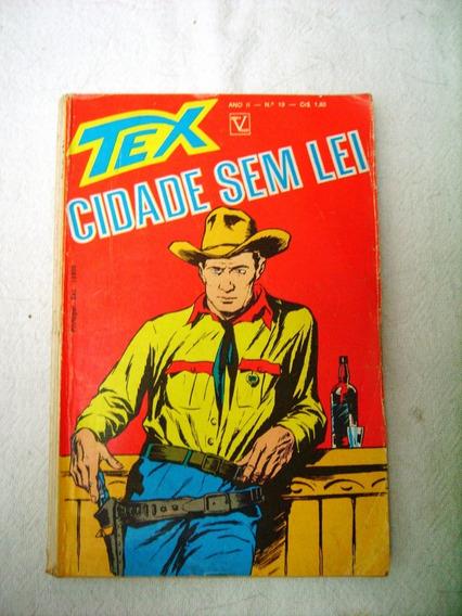 Tex 19 - 1ª Edição - Edit Vecchi - Frete Grátis