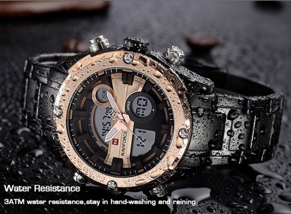 Relógio Masculino Esportivo Naviforce 9088 Original Elegante