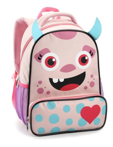 Mochila Infantil Animais Zoo Kids Bebe Bolsa Bichinho S13872