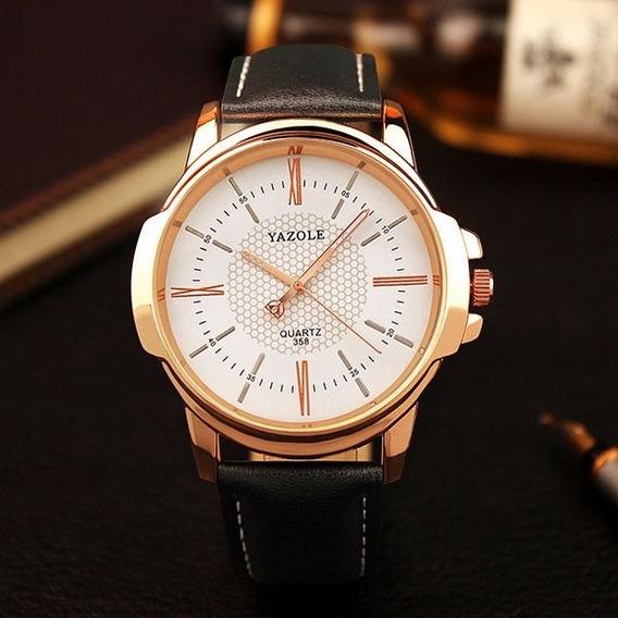 Relógio Luxo De Pulso Masculino Yazole 358 - Pb