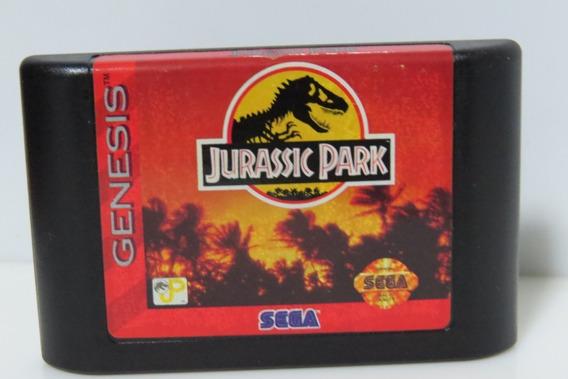 Jurassic Park Original Sega Genesis Mega Drive