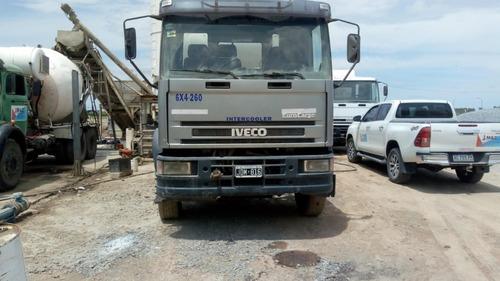 Camion Iveco 6x4 Mixer Hormigonero 8m3