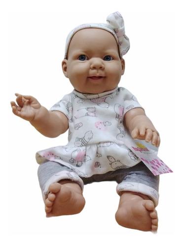 Imagen 1 de 2 de Bebe Casi Real Muñeca Tipo Reborn Sophie De Plastisol Ed Ful