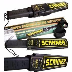 Detector De Metales Scanner Corporal Saco
