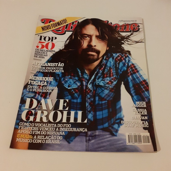 Revista Rolling Stone 101 Dave Grohl Janeiro 2015