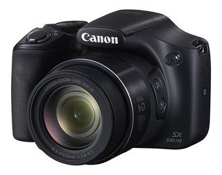 Camara Canon Sx530 16mp 50x Zoom Estabilizador Wi Fi Full Hd