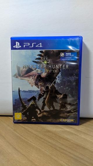 Monster Hunter World Ps4 Usado