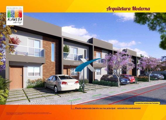 Casa De Condomínio 2 Quartos E 2 Vagas, Entrada Facilitada No Parque Santa Rosa Em Suzano - Sp. - Ca0887