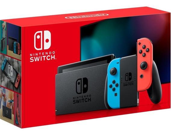 Nintendo Switch 32gb New Versão Hac-01 / Xkw Bivolt