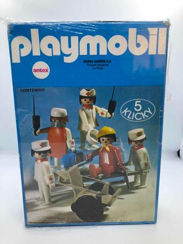 Playmobil Vintage Antex Argentina Set De Médicos Y Enfermera