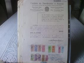 20 - Documento Com Selos De Fiscais Do Brasil