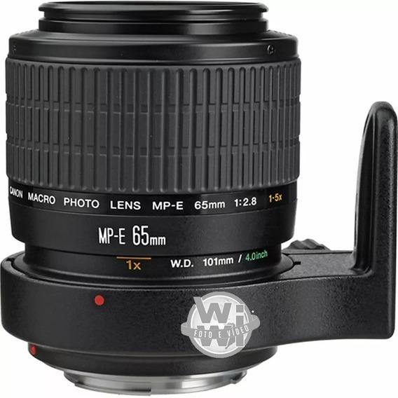 Objetiva Macro Canon Mp-e 65mm F/2.8 1-5x Macro (usado)