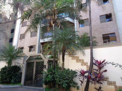 Imagem 1 de 30 de Apartamento Com 3 Dormitórios À Venda, 118 M² Por R$ 470.000,00 - Jardim Das Paineiras - Campinas/sp - Ap16733