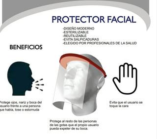 Mascara Protector Facial Reutilizable Calidad Reforzada