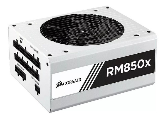 Fonte Corsair Rm850x 850w Rmx White 80 Plus Gold