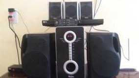 Som Philco 5 Bocas, Dvd Lg Com Controle