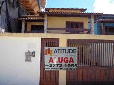 Casa Para Aluguel, 3 Dormitórios, Praia Do Pecado - Macaé - 472