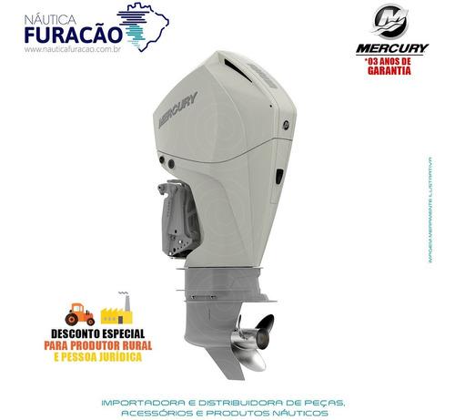 Motor De Popa Mercury 4 Tempos 225hp Cxl Efi V6 Dts Branco