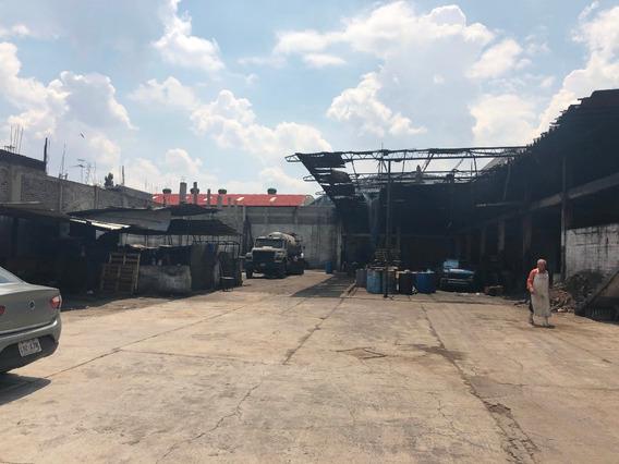 Terreno Industrial Rustico Xalostoc