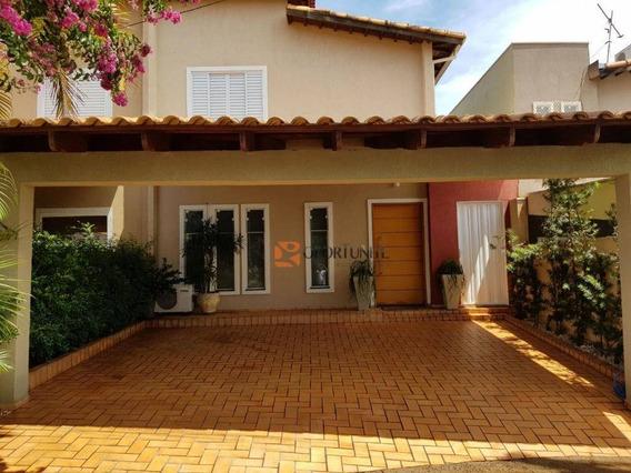 Casa 3 Dormitórios Sendo 1 Suíte - Condomínio Dei Fiori - City Ribeirão - Ribeirão Preto - Ca1063