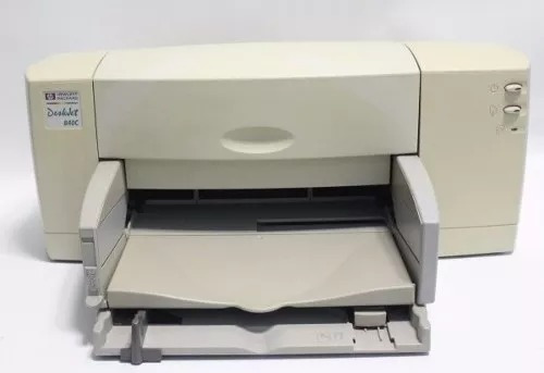 Impressora Hp 840c C/cabo Fonte Sem Cartuchos Envio T.brasil