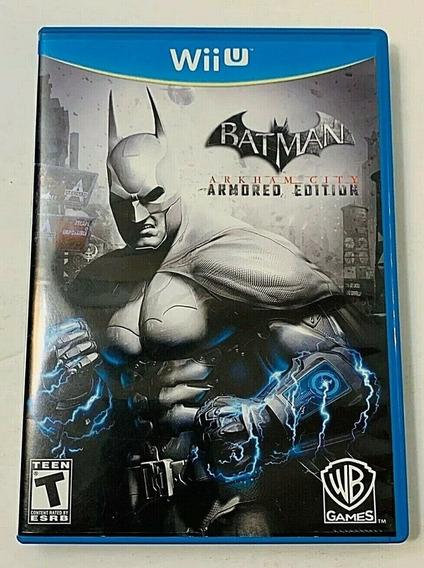 Batman Arkham City Armored Midia Fisica Wii U