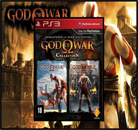 Coleção Do God Of War - Collection - Psn Ps3 - Envio Rapido