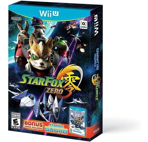 Star Fox Zero Edição Com Star Fox Guard Wii U - Lacrado