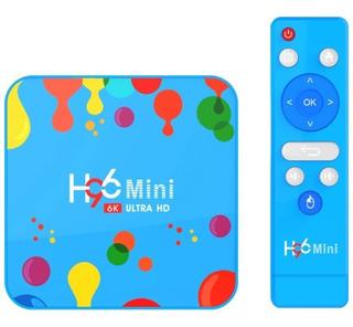 Tv Box H96 Android 9 4gb + 128gb 6k Ultra Hd Mini Pc Smart
