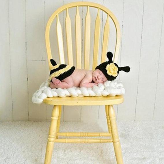 Kit Abelha - Abelhinha Newborn - Ensaio Fotografico Do Bebê