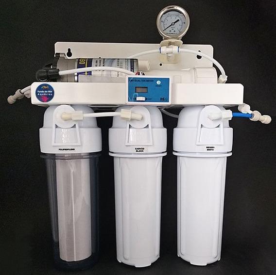 Filtro Osmose Reverso 50gpd Tds + Manômetro Completo