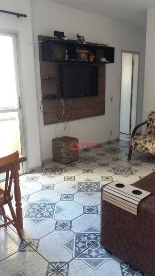 Apartamento Residencial À Venda, Condomínio Via Schnneider, Parque Senhor Do Bonfim, Taubaté. - Ap1305